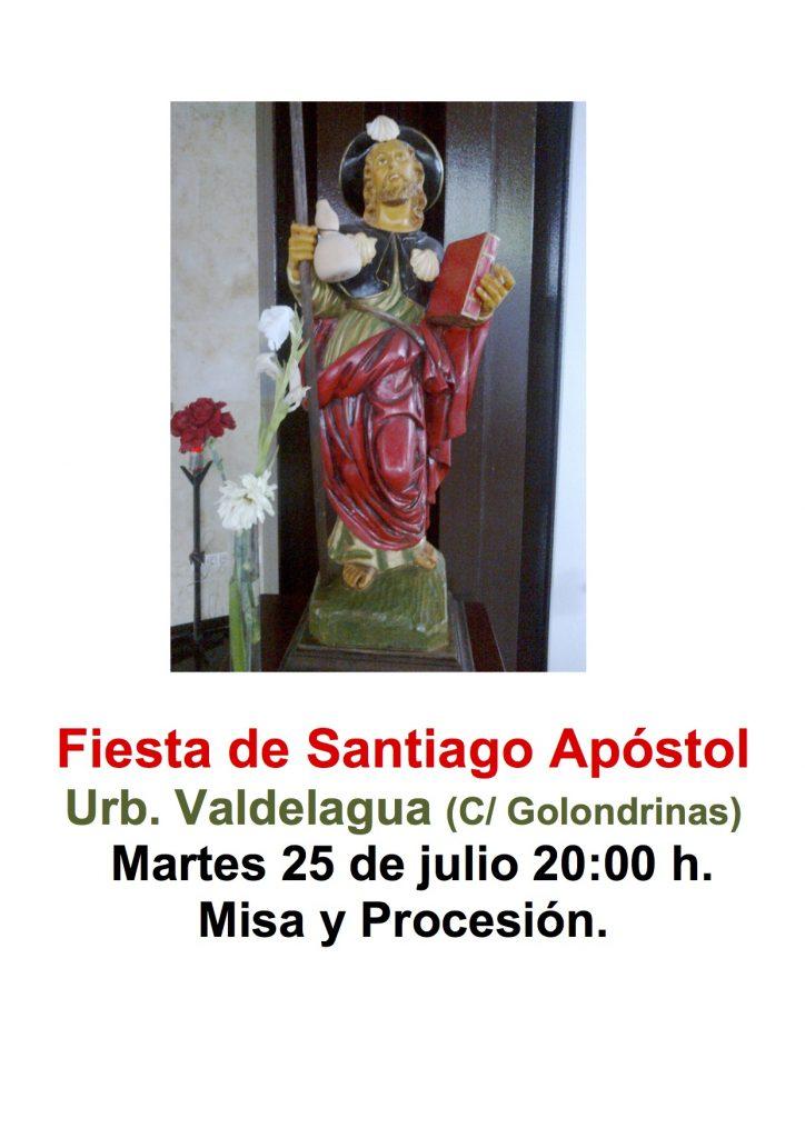 Fiesta Santiago Apóstol cartel