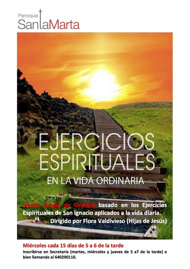 Cartel Ejercicios Espirituales Vida cotidiana-2